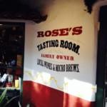 Rose's tasting Room