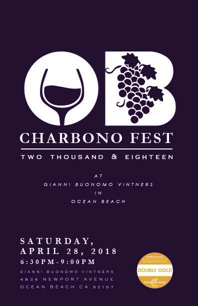 CharbonoFest @ Gianni Buonomo Vintners Winery and Tasting Room | San Diego | California | United States